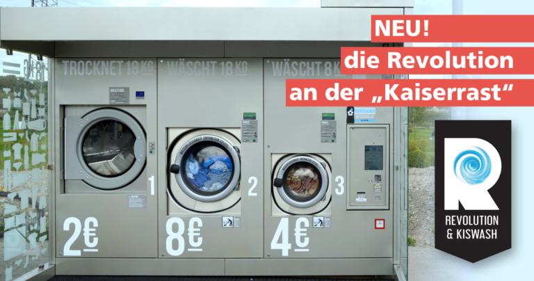 Waschautomat Kaiserrast, Niederösterreich